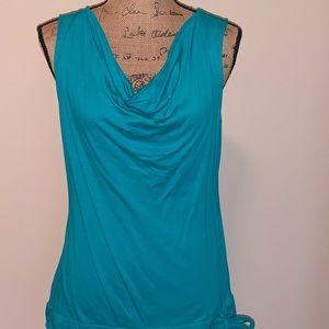 Lovely green Ann Taylor blouse-NWOT!